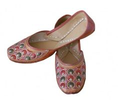 #Wonderful #Indian #Handmade #Leather #Women #Mojari http://kalracreations.com/handicraft/rajasthani-mojaris/women/indian-handmade-leather-women-mojari-1189.html