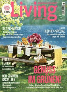 Genuss im Grünen: Leckere Mitnehm-Rezepte, tolle Picknick-Helfer und zauberhafte Deko-Ideen für eine Auszeit in der Natur. Gefunden in: Martha Stewart Living, Nr. 3/2016