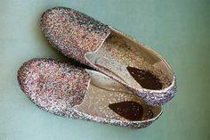 D.I.Y.: Slippers con brillos
