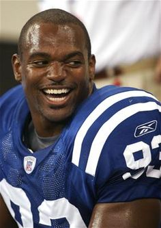 Dwight Freeney - you just have to love the Freeney Mathis combo!