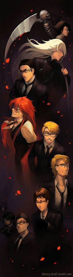 Shinigami -- Oh Will and Grell, you beautiful souls...or lack thereof. Ha