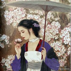 """Cover for """"Chinese Painting Book - Album of Girl and Lady Beauty"""" by Wang Mei Fang and Zhao Guo Jing (Chinese) - detail -- http://www.ebay.com/itm/chinese-painting-book-album-of-girl-lady-beauty-by-Wang-meifang-Zhao-guojing-art/181161532001?_trksid=p2047675.m1850&_trkparms=aid%3D222002%26algo%3DSIC.FIT%26ao%3D1%26asc%3D11%26meid%3D8559029227514531016%26pid%3D100011%26prg%3D1005%26rk%3D4%26sd%3D171044427449%26"""