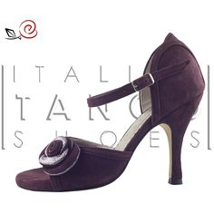 "so beautiful and elegant....Discover ""Rosa"" :-) ......""What's in a name? that which we call a rose By any other name would smell as sweet"".....William Shakespeare  http://www.italiantangoshoes.com/shop/en/women/83-rosa-garnet.html"