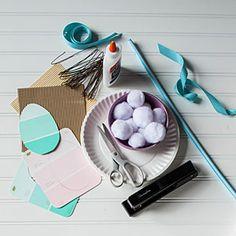 Easter Bunny Photo Prop Materials
