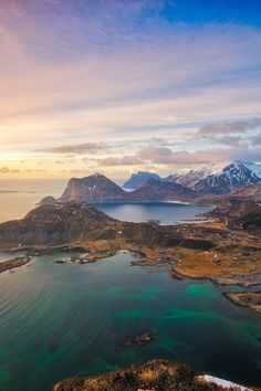 Lofoten Islands, Arctic Norway by Rod Thomas (Favorite Places Pictures) Places Around The World, Oh The Places You'll Go, Places To Travel, Travel Destinations, Places To Visit, Lofoten, Norway Travel, Adventure Is Out There, Wonders Of The World