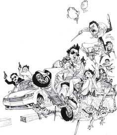 Kim Jung-Gi-sketch-art-photo-gallery-guns-rides