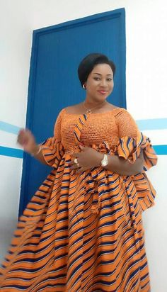Latest Ovation Ankara Styles: Check Out Creative And Stylish Ovation Ankara Styles For Church Vol. 10 Latest Ovation Ankara Styles: Check Out Creative And Stylish Ovation Ankara Styles For Church Vol. Short African Dresses, Latest African Fashion Dresses, African Print Dresses, African Print Fashion, Long Dresses, Elegantes Outfit Mit Jeans, Ankara Mode, African Print Dress Designs, African Traditional Dresses