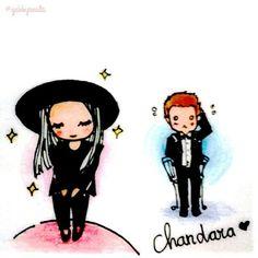 Chanyeol dara chandara Chanyeol And Dara, Exo, Fanart, Anime, Fan Art, Cartoon Movies, Anime Music, Animation, Anime Shows