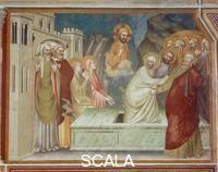 Giovanni da Milano (14th cent.) Raising of Lazarus