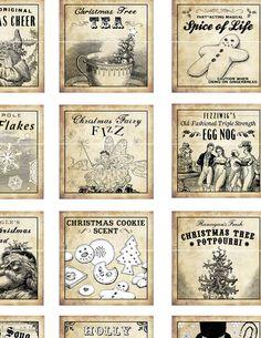 LOTS of Vintage Labels