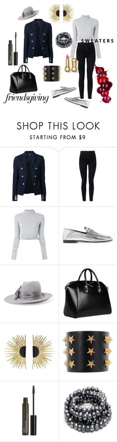 """#Thankful Digs"" by charity-blossom on Polyvore featuring Theory, J Brand, Faith Connexion, Isabel Marant, Eugenia Kim, Givenchy, Aurélie Bidermann, Tommy Hilfiger and NYX"