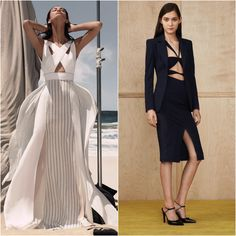 Criss-crossing for Resort '15 (more from the latest Resort collections, today on chicityfashion.com)