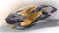 Move Award Futuristic Car Design Child Safety First: Gaurang Nagre from… Car Interior Sketch, Car Interior Design, Car Design Sketch, Interior Concept, Car Sketch, Automotive Design, Interior Design Renderings, Industrial Design Sketch, Futuristic Cars