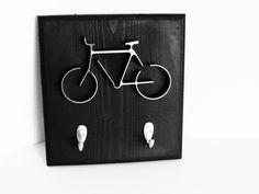 Iron Bicycle Art Key Rack