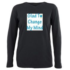 Are you a rational thinker? Then show it with our Inin Plus Size Long Sleeve Tee