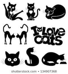 Find silhouette-cat-black stock images in HD and millions of other royalty-free stock photos, illustrations and vectors in the Shutterstock collection. Cat Vector, Vector Art, Art Clipart, Gatos Cat, Black Cat Silhouette, Clip Art, Cat Behavior, Stuffed Animal Patterns, Cat Design