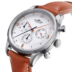 """""""What do you think? Fortis' new direction starting 2015. This Terrestis Tycoon chronograph (41mm) will be one of their highlights in BaselWorld. More…"""""""