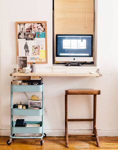 47 Cute Diy Bedroom Storage Design Ideas For Small Spaces. cool 47 Cute Diy Bedroom Storage Design Ideas For Small Spaces. Under the bed storage systems are also ideal for storing items not used on a normal basis in order for […] Desks For Small Spaces, Small Apartments, Desk In Small Space, Ikea Small Desk, Small Workspace, Small Computer, College Apartments, Ikea Desk, Workspace Design