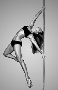pole dancing - can I just have her body now? I gotta say, pole dancing looks like a fun way to get in shape...I'm going to look into classes