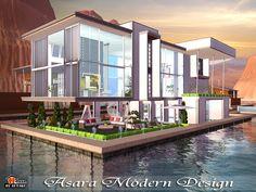 Asara M Design house by Autaki - Sims 3 Downloads CC Caboodle