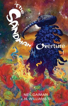 Sandman: Overture #01 - Cover by J.H. Williams III ----