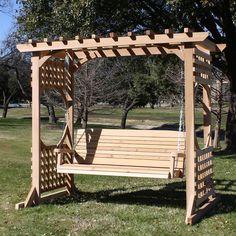 Outdoor Swing Frames Hand Made Cedar Porch Swings