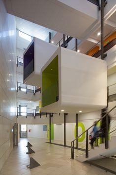 v2com newswire | Institutional Architecture | Re-establishment of the Institut de Formation des Professionnels de la Santé - NBJ architectes  @Paul KOZLOWSKI