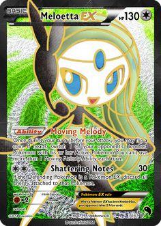 Meloetta-EX (FA) by Jabberwock314 Fake Pokemon Cards, Social Community, Deviantart, Gallery, Artist, Roof Rack, Artists