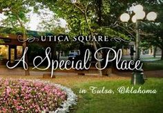 I loved hanging out in Utica square