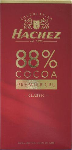 Hachez 88% Cocoa Bitterschokolade