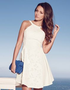 michelle keegan lipsy lace skater dress - Google Search
