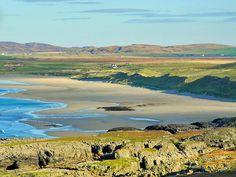 Machir Bay on a sunny October morning, Isle of Islay