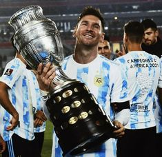 Messi Argentina, Champs