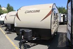 2016 New Forest River CASCADE Travel Trailer in Washington WA.Recreational Vehicle, rv, 2016 FOREST RIVER CASCADE, This new 2016 Forest River Cascade 23QBC is equipped with a cozy sleeper sofa, lots of overhead cabinets and an interior stereo system. In a