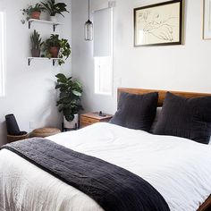 Design is not my forte, but I'm pretty proud of the way and my bedroom turned out. It's like a mid-century sanctuary in… Scandi Bedroom, Bedroom Decor, Bedroom Ideas, Bedroom Furniture, Master Bedroom, Parachute Home, Futon Bed, Princess Room, Best Mattress