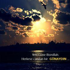 Resimli Günaydın Mesajları, Resimli Günaydın Sözleri - Pek Güzel Sözler Seychelles, Desktop Screenshot, Celestial, Sunset, Movie Posters, Movies, Outdoor, Allah, Outdoors