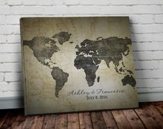 Navy world map wall art canvas world map print in by allymacdesign navy world map wall art canvas world map print in by allymacdesign gumiabroncs Image collections