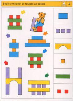 Logico --Rajzolunk, festünk, barkácsolunk - Katus Csepeli - Picasa Webalbumok Preschool Worksheets, Preschool Activities, Visual Perception Activities, Numicon, Occupational Therapy Activities, Sequencing Cards, Hidden Pictures, Kindergarten, My Little Baby