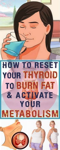 Activate Your Metabolism and Burn Fat by Resetting Your Thyroid! #Dietandyourthyroid #Exerciseandyourthyroid
