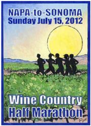 the perfect way to celebrate my 31st: running, wine, napa, sonoma and san fran!