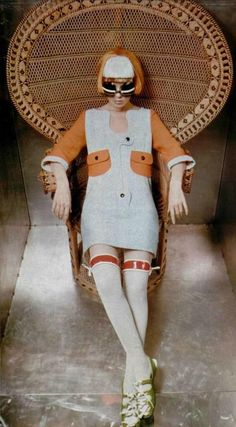 8bd9254418 Andres Courreges 1960s Fashion