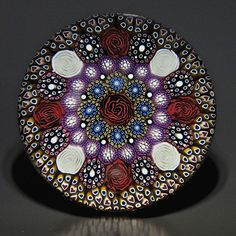 Mike Hunter - Twists Glass - 2012 - Paperweight - #0169