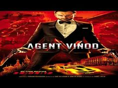Saif Ali Khan Movies A series of seemingly unconnected events across the world leads to Agent Vinod undertaking a globe-trotting mission to discover why his colleague was murdered. Saif Ali Khan, Movie Songs, Movie Tv, Audio Songs, Trailers, Bollywood Posters, Bollywood Songs, Bollywood Theme, Indian Bollywood