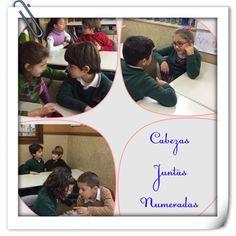 MARISTAS OURENSE EP1 @MarOuEP1 Cabezas juntas numeradas 2ºC #ourenseenruta #compostelaenruta