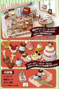 Re-Ment Disney Mickey Minnie Sweets Shop Miniature Box