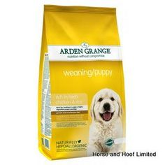 Arden Grange Chicken Rice Weaning Puppy Food 6kg Arden Grange Chicken Rice Weaning Puppy Food is a tasty nutritious way of introducing puppies onto dry food & feeding them a complete diet.