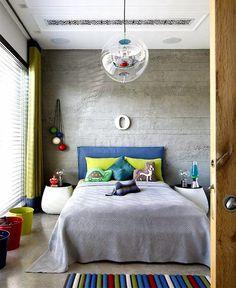 Casinha colorida: Arquitetura moderna