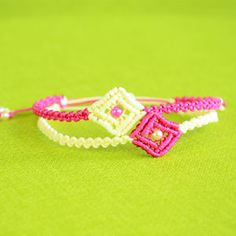 Easy Square Bracelet Tutorial