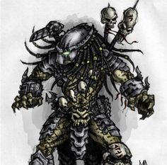 Love video-game, movies, fantasy creatures and sort of! Really, I love those crabby-faced, hot aliens. Aliens, Alien Drawings, Alien Vs Predator, Fantasy Pictures, Video Game Art, Fantasy Creatures, Pretty Cool, Movie, Enemies