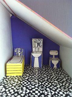 NASH BLOCK: DINA'S DOLLS HOUSE TOUR: DESIGNED BY MAUREEN ROFFEY